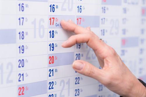 日々のチェック表